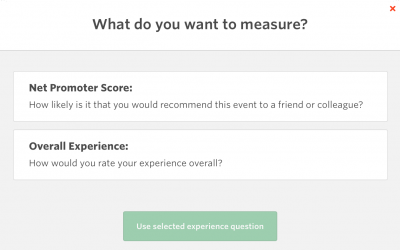 Adding 'Experience' Questions to your Surveys